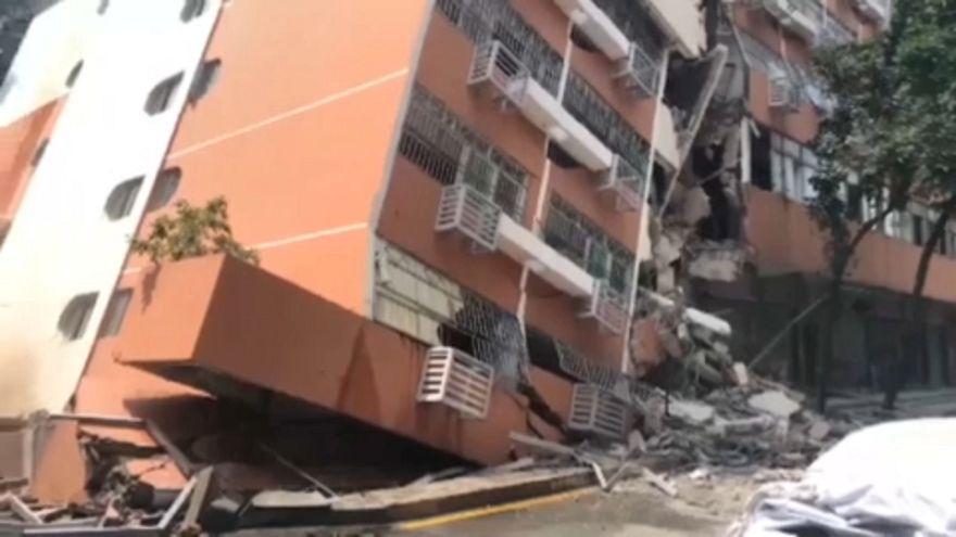 ویدئو؛ ساختمان مسکونی شش طبقه در چین نشست کرد