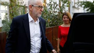 Corbyn on Johnson: British PM 'wants to run headlong into the arms of Donald Trump'