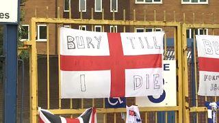 Kizárták az angol harmadosztályban szereplő Bury labdarúgócsapatát