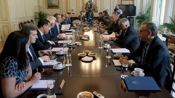 Υπουργικό Συμβούλιου στο Μέγαρο Μαξίμου