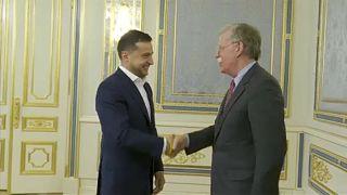 Ukrajnában tárgyal John Bolton