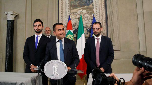 Ιταλία: Συμφωνία για κυβέρνηση συνασπισμού 5 Αστέρων - Σοσιαλδημοκρατών