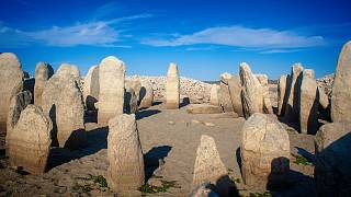 """Un'eccezionale siccità fa tornare alla luce la """"Stonehenge spagnola"""""""