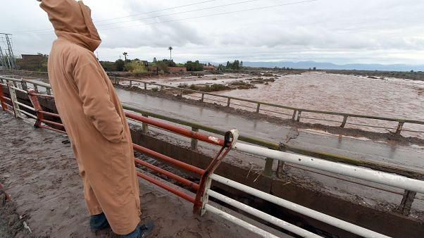 فيضانات في المغرب/ أرشيف