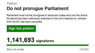 Szárnyal a Boris Johnson terve elleni petíció