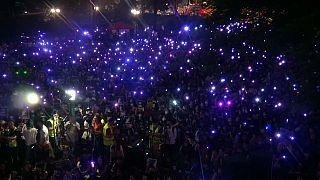 Hong Kong contro gli abusi subiti dalle donne durante le proteste