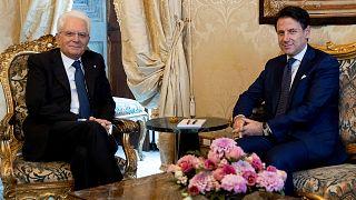 İtalya: Cumhurbaşkanı Mattarella istifa eden Başbakan Conte'ye 2. kez hükümet kurma görevi verdi