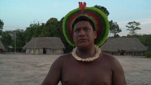 Indígenas da Amazónia pedem ajuda