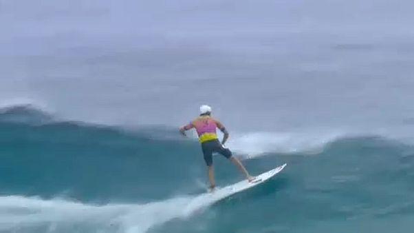 Szörf: Ausztrál siker Tahitin