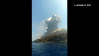 Watch: Italian volcano erupts for second time in two months