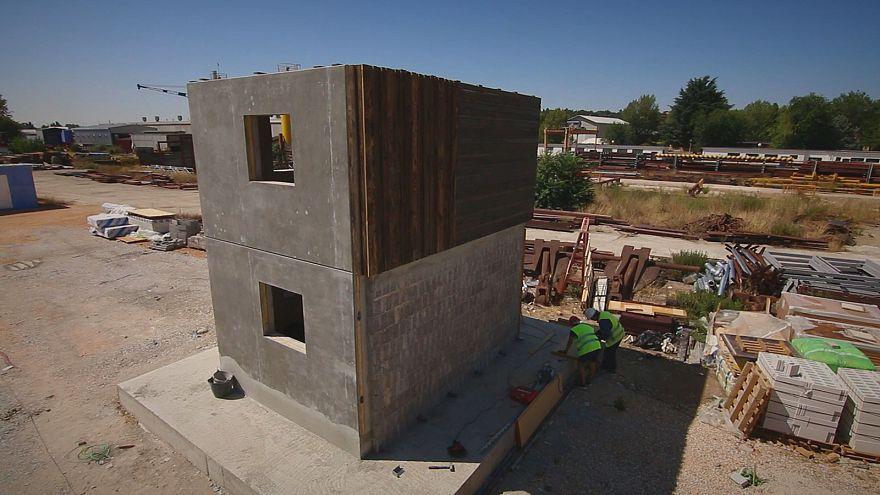 Új épületek régi építőanyagokból