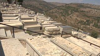 Far below Jerusalem's main cemetery of Har Hamenuchot, a new underground burial site is being built