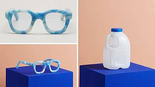 The brands launching sunglasses made from human hair, milk bottles and coffee waste