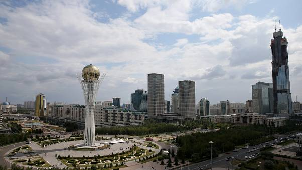 Downtown Nur-Sultan, Kazakhstan