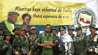 FARC liderlerinden Ivan Marquez kod adlı Luciano Marin, yeniden silahlanacaklarını bildirdi