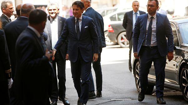 """İtalya'da Conte göçmen politikasında değişikliğe işaret etti: """"Yeni bir hümanizm vakti"""""""