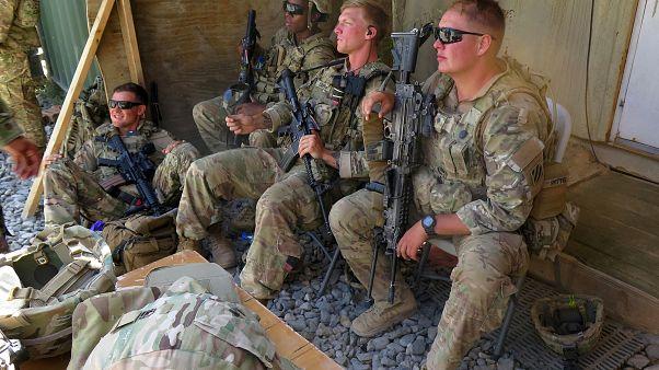 Afganistan'daki Amerikan askerleri