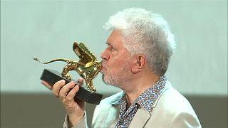 Spanish filmmaker Pedro Almodovar gets lifetime achievement award at Venice Film Festival