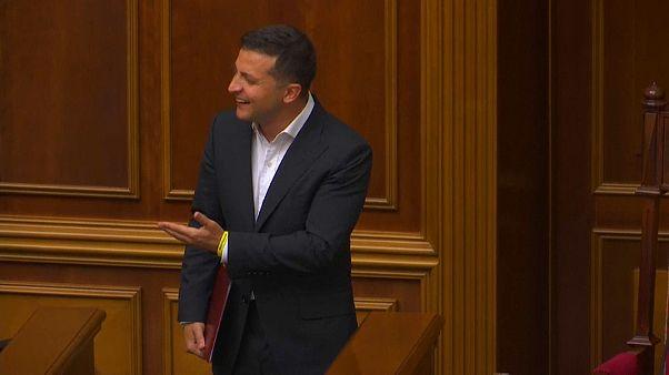 Kiew: Erste Sitzung der Obersten Rada