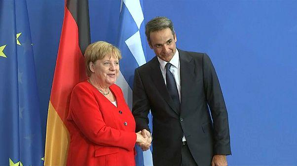 Mitsotakis in Berlin: So steht er zum Thema Reparationen