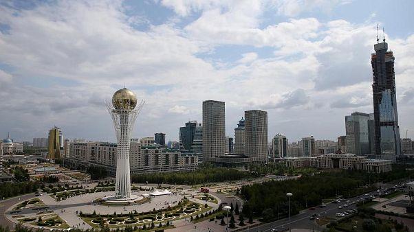 Innenstadt Nur-Sultan, Kasachstan