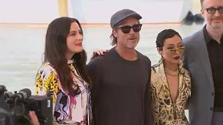 حضور برد پیت در جشنواره فیلم ونیز