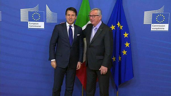 Buenas palabras en Europa para la nueva alianza italiana