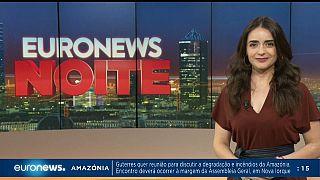 Euronews Noite | As notícias do Mundo de 29 de Agosto de 2019