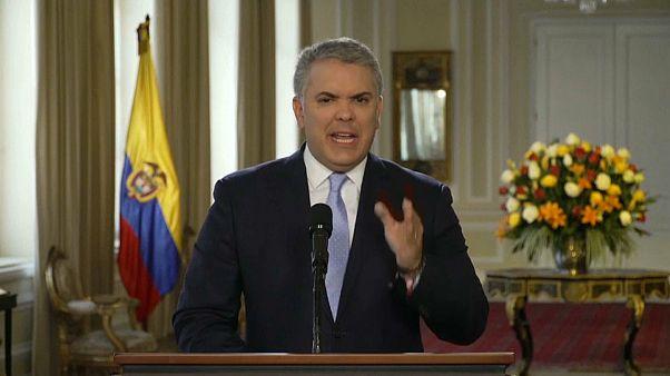 Duque: No vuelven las FARC, sino narcoterroristas apoyados por Maduro
