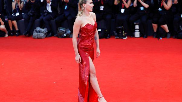 Scarlett Johansson parou Festival de Veneza