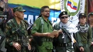 Regresso às armas das FARC ameaçam paz na Colômbia
