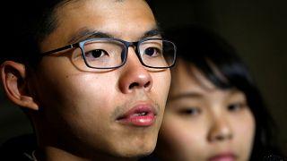 Hong Kong : le pouvoir veut intimider Wong et Chow, figures de la révolte