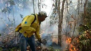 Amazóniai tűzvész: beismerő vallomás Brazíliában