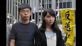 Hongkong: Protest-Aktivisten wieder auf freiem Fuß