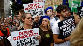 Juiz escocês rejeita bloquear suspensão do Parlamento britânico