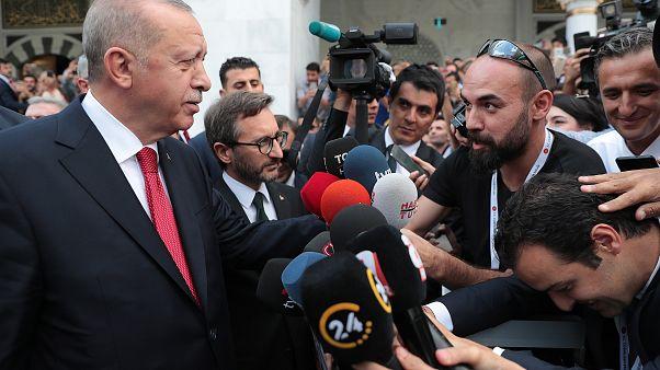 Erdoğan'dan Davutoğlu'na: Söyleyecekleri ne varsa söylesinler