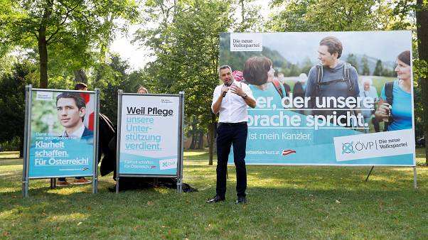 Austria verso le elezioni, i sondaggi danno il partito di Kurz al primo posto