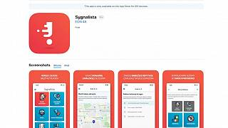 Sygnalista encourages users to report petty crimes and infringements.