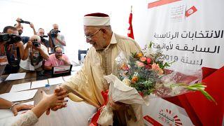 نائب رئيس حزب النهضة التونسي والمرشح للانتخابات الرئاسية عبد الفتاح مورو