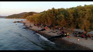 Túlzsúfolt a leszboszi menekülttábor