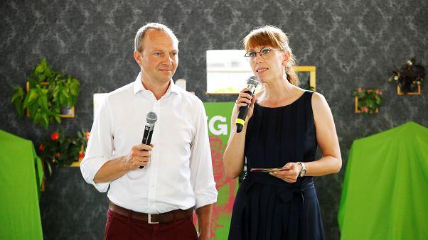 Wolfram Günther und Katja Meier, das Grünen-Duo in Sachsen