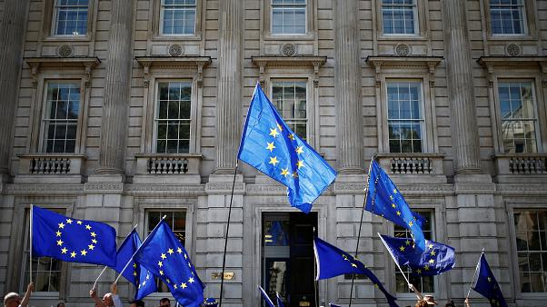 Image result for Protests as clock ticks on campaign to stop no-deal Brexit