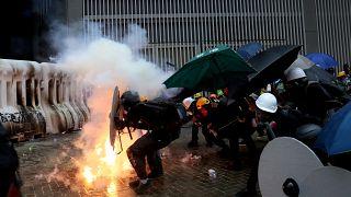 Напряжённая ситуация в Гонконге