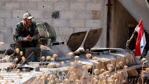 Suriye hükümeti ateşkes ilan etti, İdlib'e hava saldırıları durdu