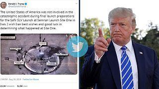 آیا ترامپ اسرار «جاسوسی» آمریکا را با عکس پایگاه فضایی ایران افشا کرد؟