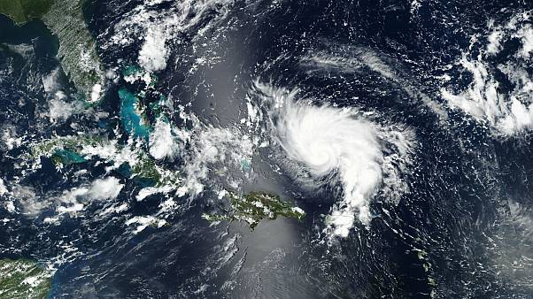 Hurricane Dorian hits Bahamas as second-strongest Atlantic storm on record