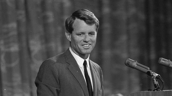 مرشح الرئاسة الأمريكي روبيرت كينيدي