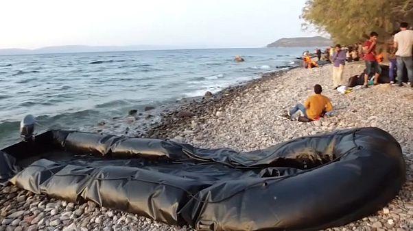 Lesbos: Griechische Regierung reagiert auf Flüchtlings-Tagesrekord