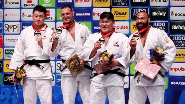 Czech Olympian Lukas Krpalek gains heavyweight gold at the Judo World Championships