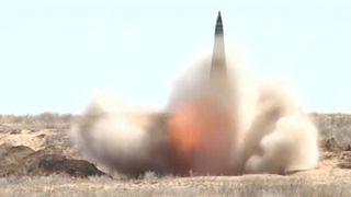 روسیه موشک بالستیک اسکندر را آزمایش کرد